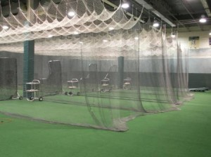 Indoor baseball facility NJ