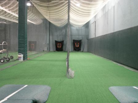 In the zone is an indoor baseball facility in nj for Design indoor baseball facility