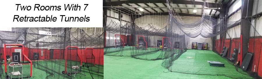 indoor baseball facility