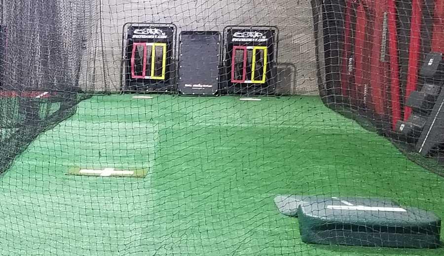 indoor softball facility