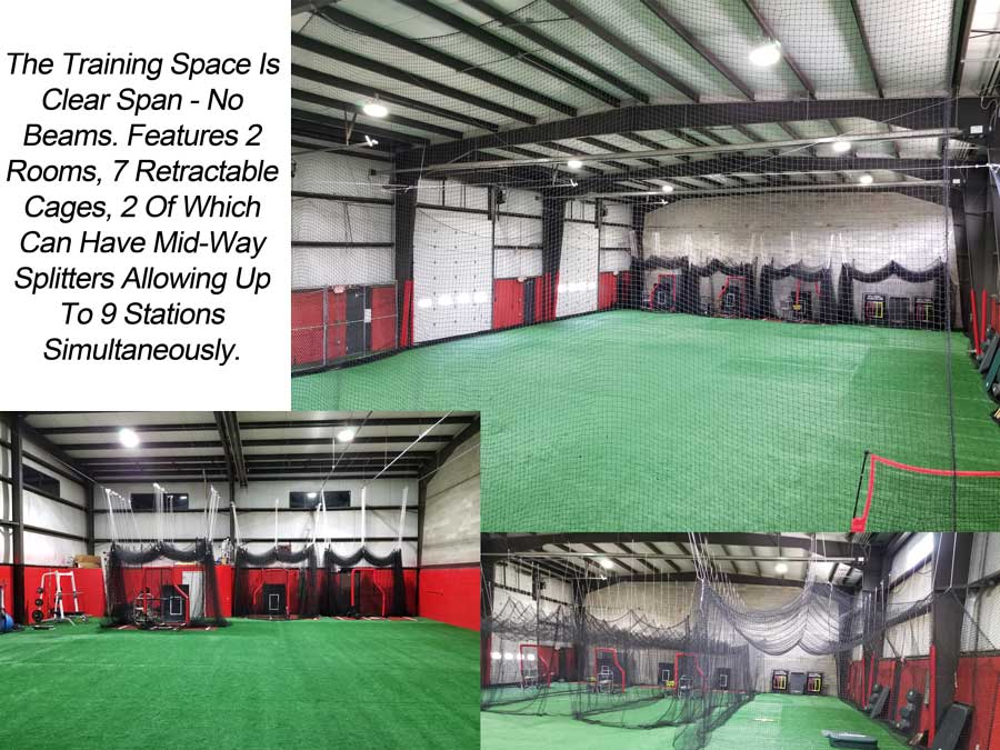 baseball training facility