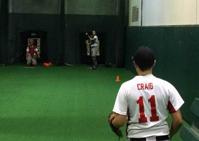 ITZ Pitcher Colby Craig Getting His Work In