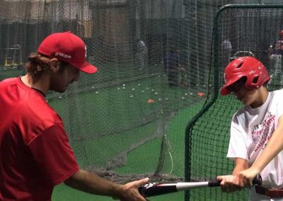 Coach Dan Gullucio Working With Ed Markowski