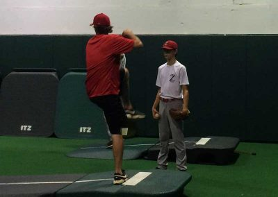Coach Dan Working With Sean Fitzimmons