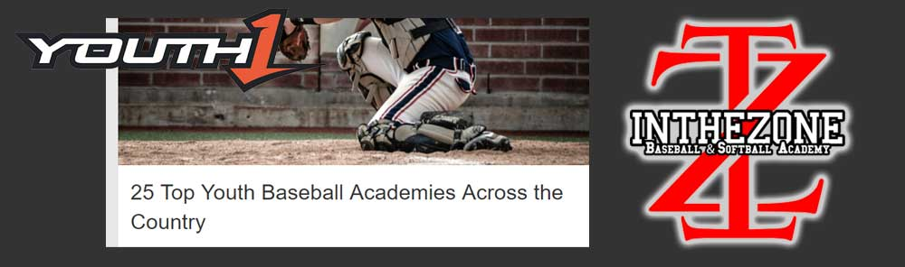 In The Zone Named To Top 25 Youth Baseball Academies In The Country