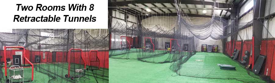 indoor softball facility