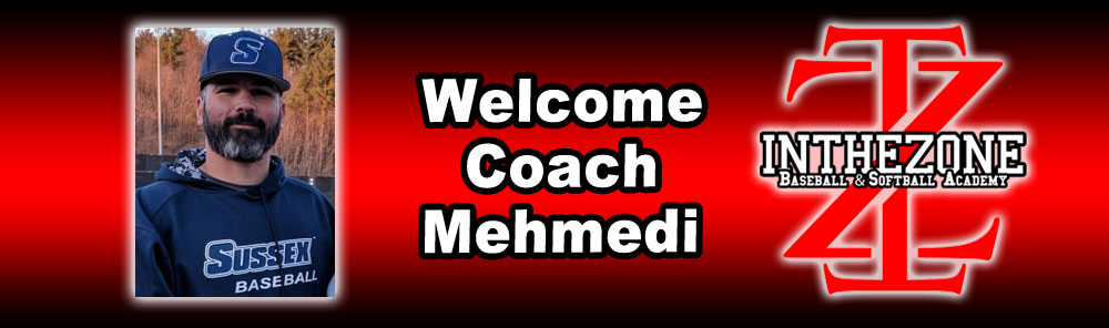 In The Zone Baseball & Softball Training Academy Announces Addition Of SCCC's Head Coach Ramadan Mehmedi As Director Of Strength & Conditioning / Recruiting Support Manager